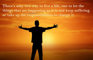 There's only two way to live a life,latest  life quote in english
