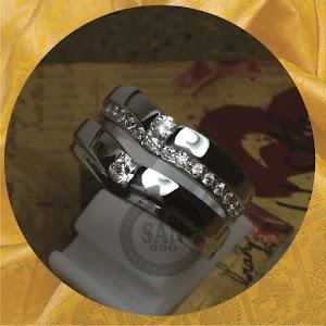 cincin emasputih paladium p5804