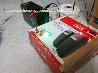 red led cut self regulating battery controller prototype images