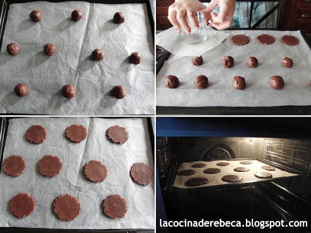 Receta de galletas de Nutella 03