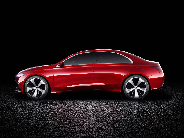 Mercedes-Benz Concept A Sedan Previews Future Compact Cars ...