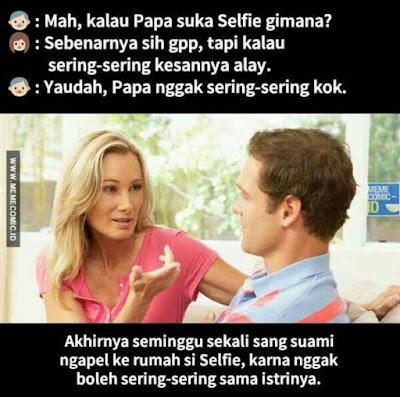 10 Meme Lucu 'Obrolan Suami Istri' Ini Kocaknya Ngegigit Banget