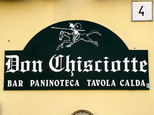 Don Chisciotte bar, via de Larderel, Livorno