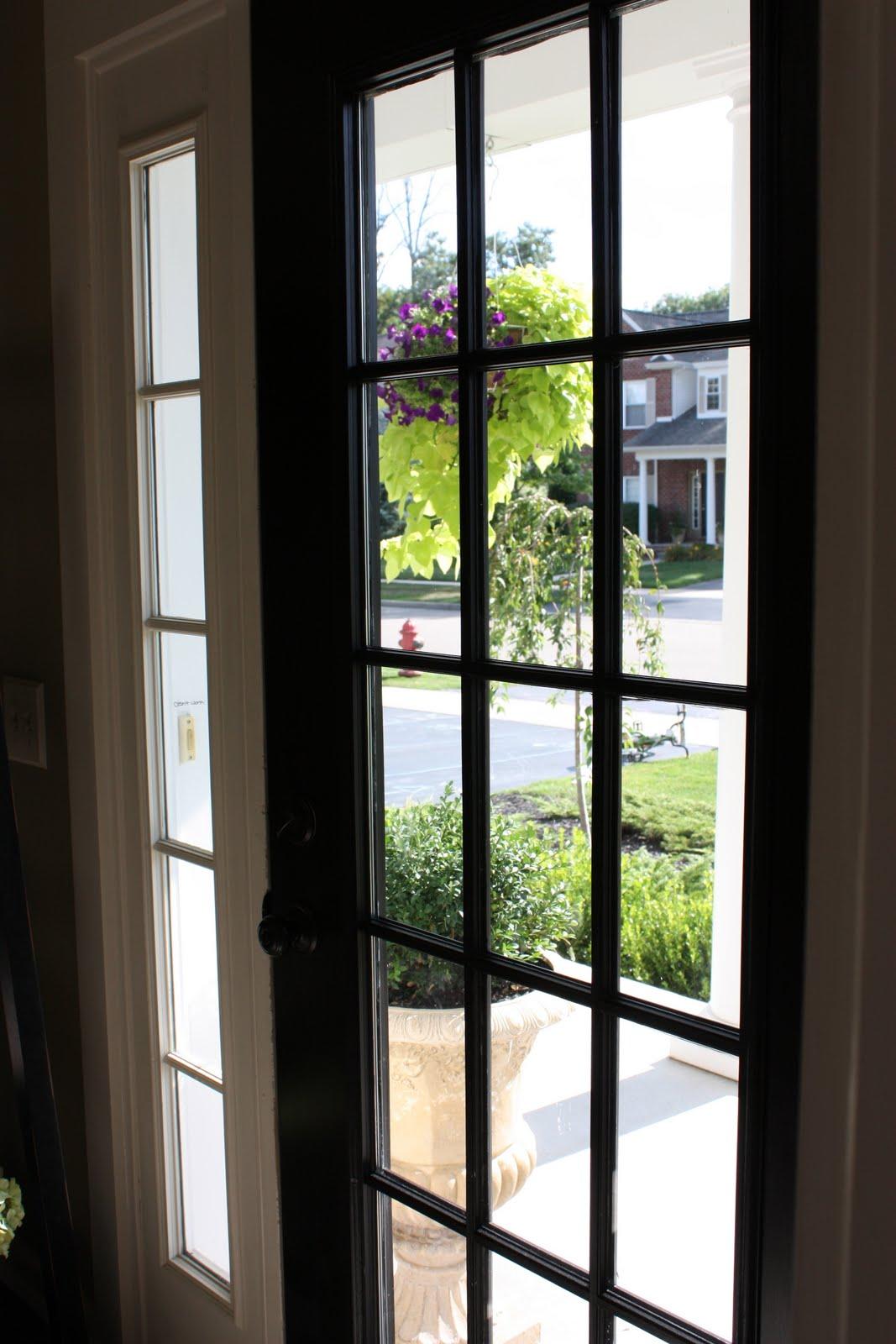 Painting Wood Front Door
