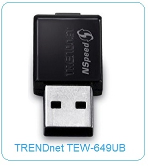driver cle wifi trendnet tew-649ub