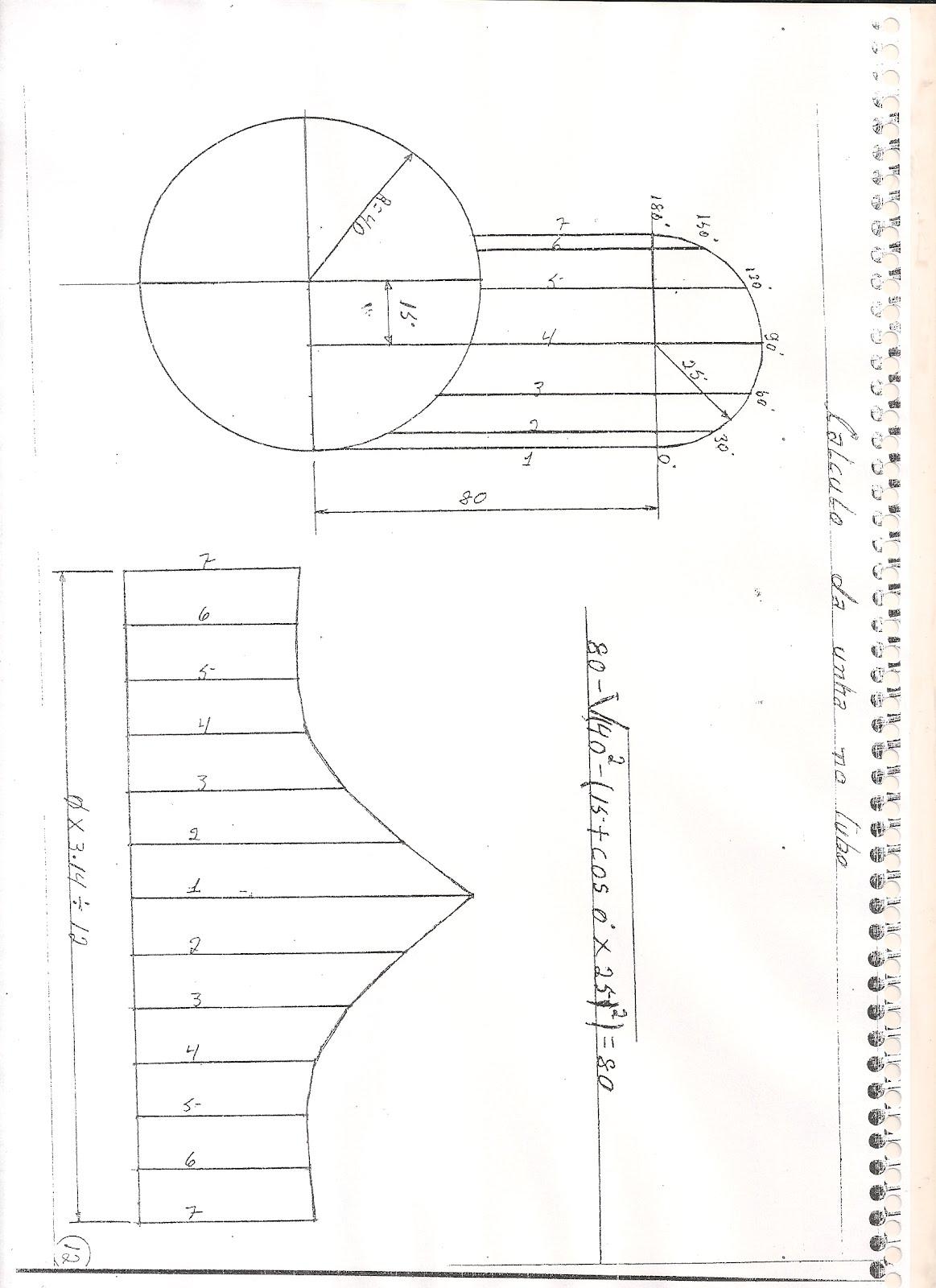 desenhos de caldeiraria