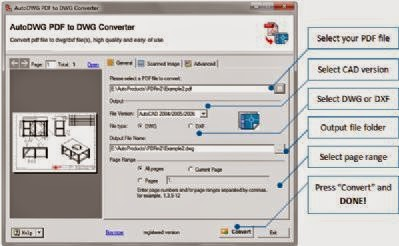 Top 10 easy ways on how to convert pdf to dwg.