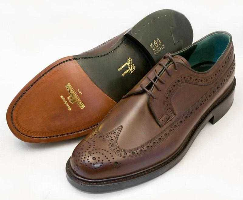 Brogue Shoes Homme