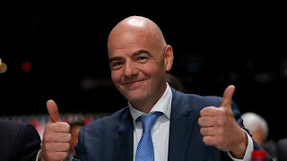 Infantino Congratulates Plateau United Fc as they emerge winner of the NPFL 2017/18