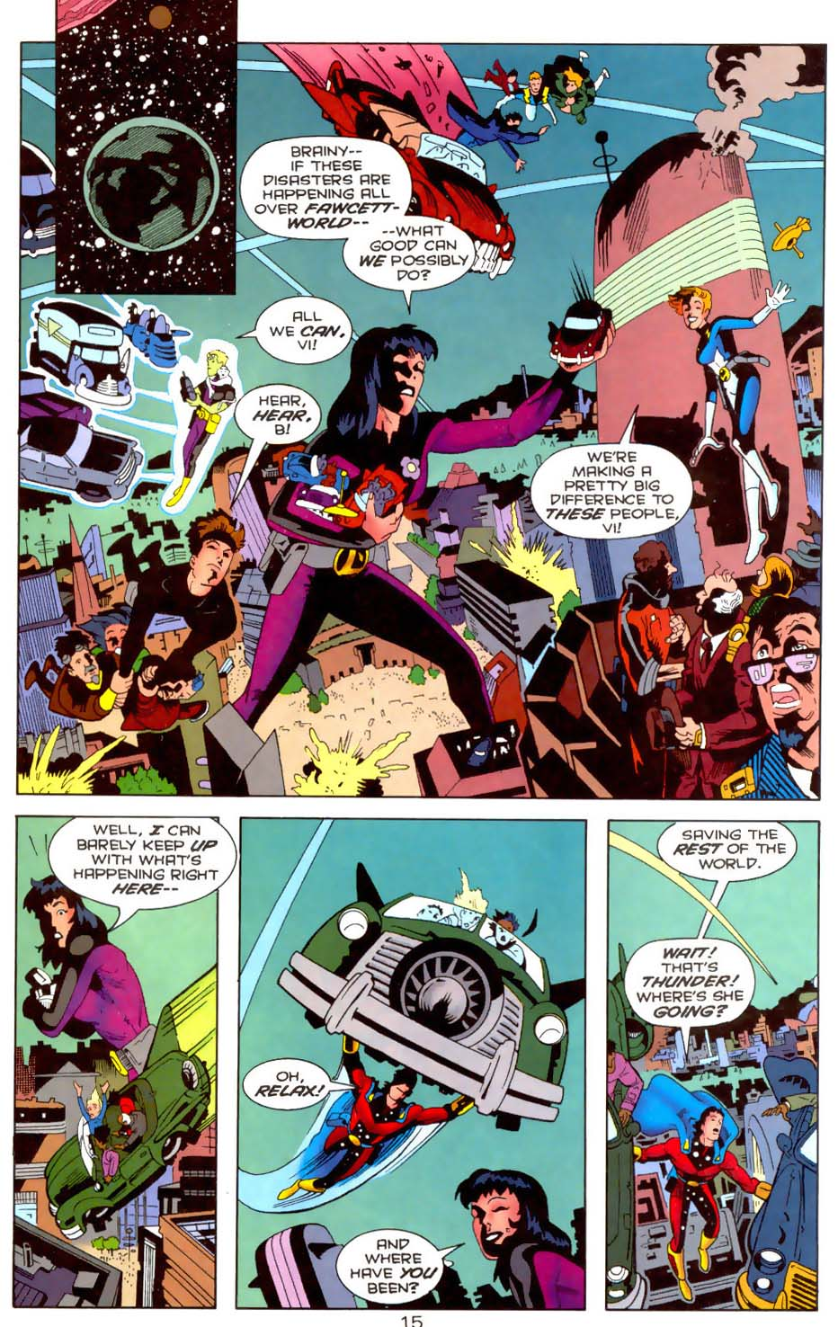 Legion of Super-Heroes (1989) 110 Page 15