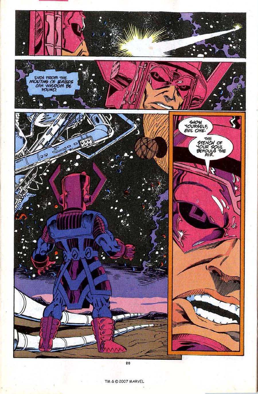 Read online Silver Surfer (1987) comic -  Issue #48 - 22