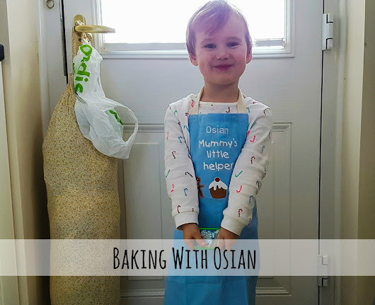 Baking with Osian