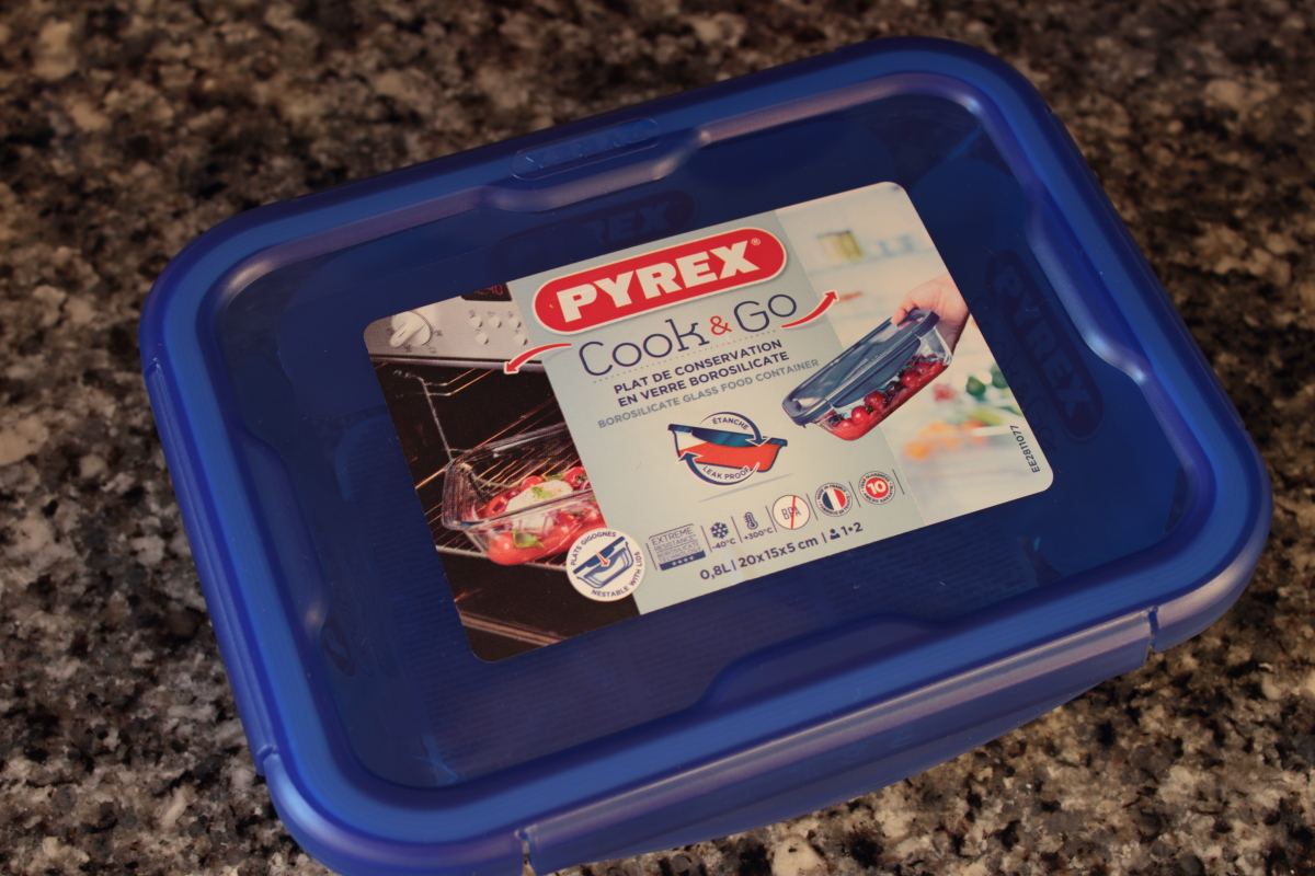 Pyrex CooK and go