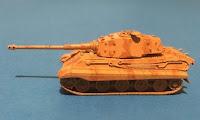 Tiger II  Henschel Turret