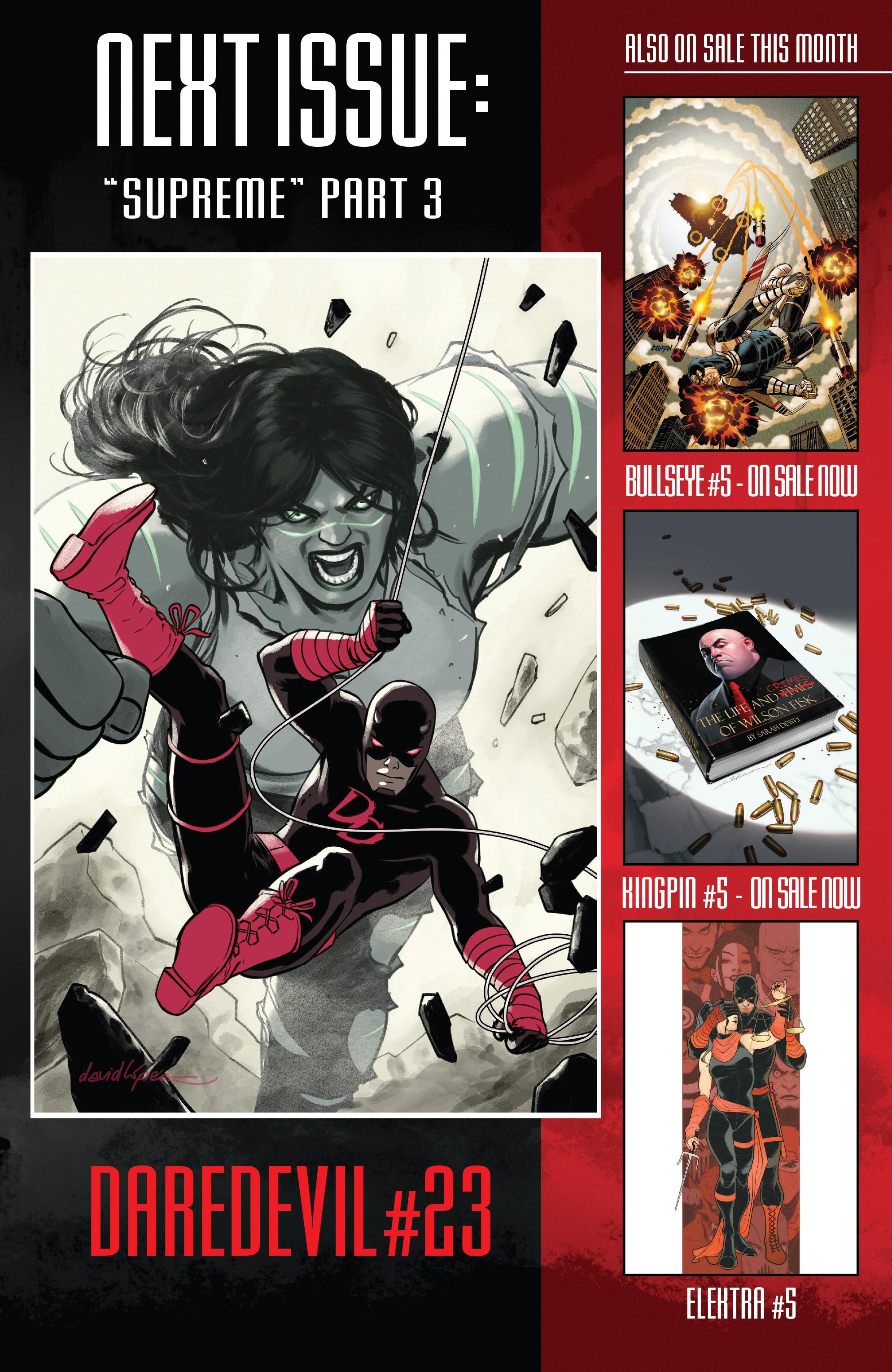 Read online Daredevil (2016) comic -  Issue #22 - 22