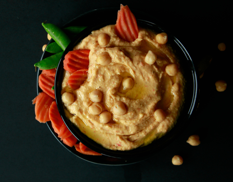 Cook: Low(er)-fat from scratch hummus recipe