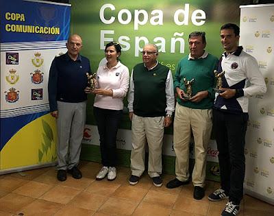 Copa España Golf Aranjuez