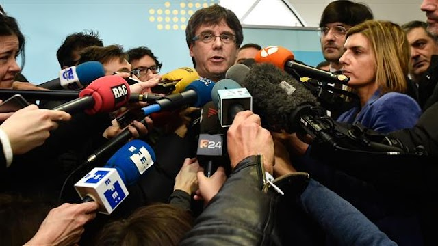 Spain moves to block Carles Puigdemont's election as Catalonia leader