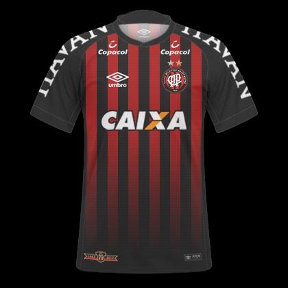 3c22d91859 GT Camisas  Camisas Atlético PR 2017   2018 Paranaense 2018 - Home e ...