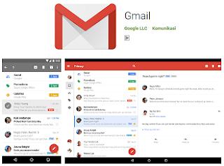 Aplikasi Manajemen Email Populer GMail