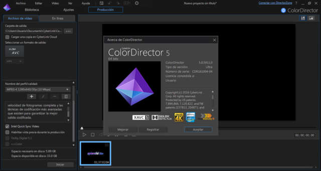 CyberLink PhotoDirector Suite 8 Full Español