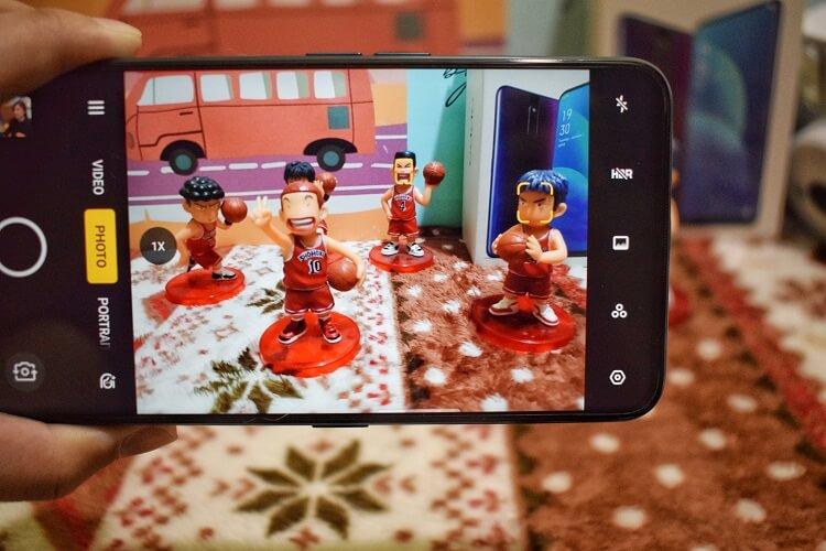 OPPO F11 Pro Camera Interface