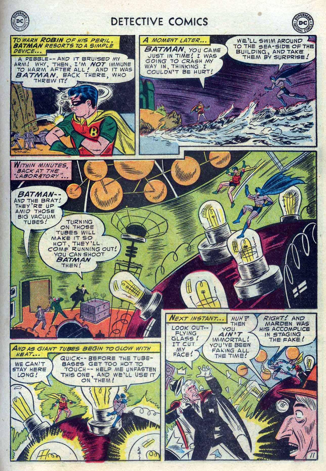 Read online Detective Comics (1937) comic -  Issue #204 - 13