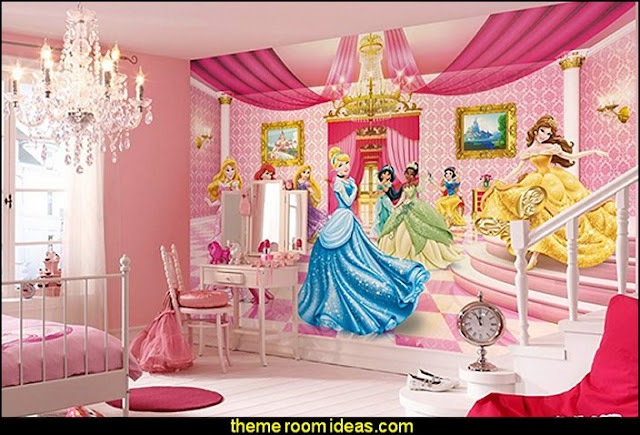 mural - Princess Ballroom   Princess style bedrooms - castle theme beds - Pumpkin Bed  - fairy princess theme bedroom ideas - Princess bed - Disney Princess Furniture - Cinderella Wall Decals - Cinderella Carriage Bed - Castle Theme Beds - Princess Carriage Twin Bed - princess theme baby nursery decorating ideas - Princess bedroom furniture