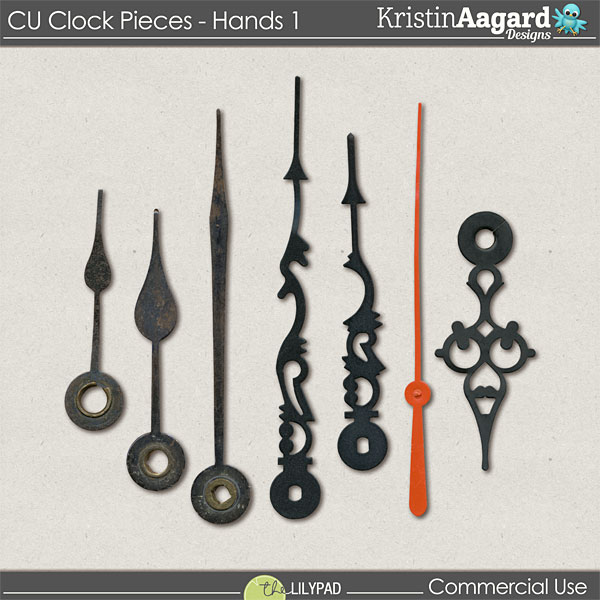 http://the-lilypad.com/store/Digital-Scrapbook-Design-Tools-CU-ClockPieces-Hands-1.html