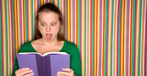 Une lectrice trouvant un livre choquant.