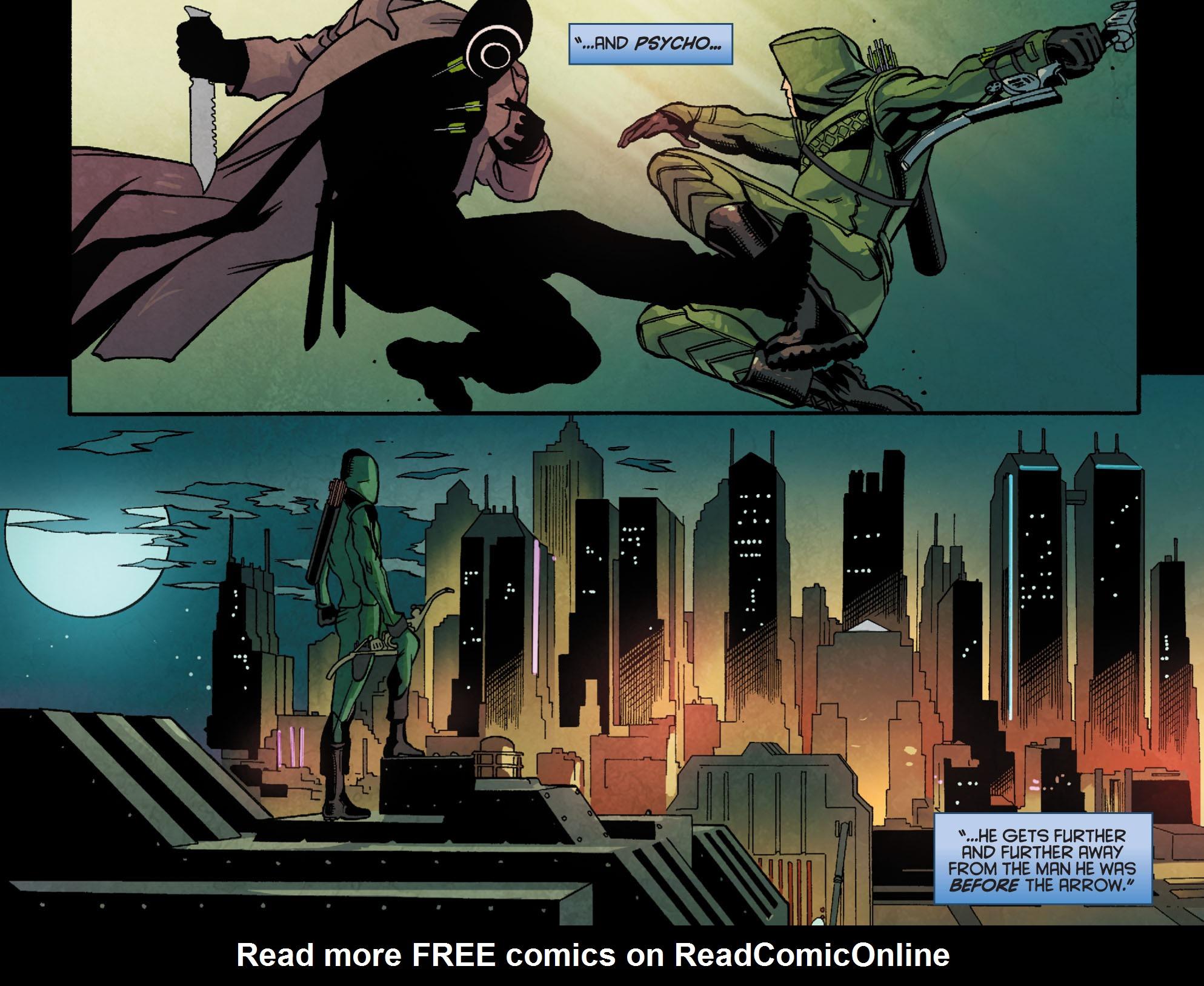 Read online Arrow: Season 2.5 [I] comic -  Issue #24 - 12