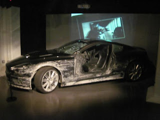 This Aston Martin has seen better days.