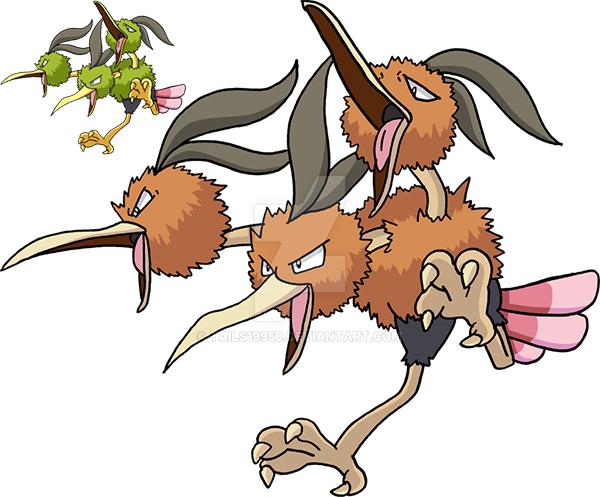 Pokemon Dodrio