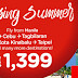 P1,399 Cheap Flights Summer Promo 2017