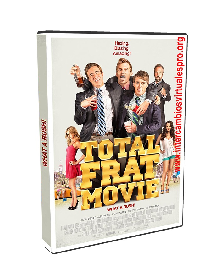Total Frat Movie poster box cover
