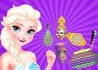 juegos de Elsa maquillar y vestir