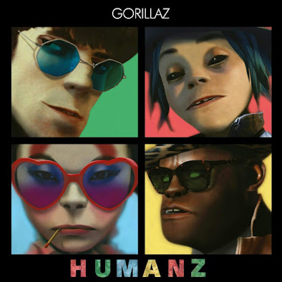 "Gorillaz Score No.1 Album Worldwide With ""Humanz"""