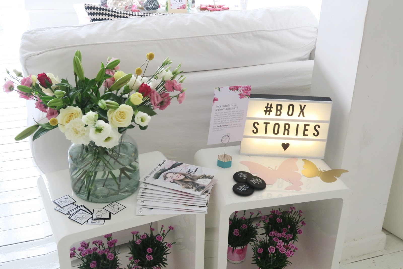 abo box, beauty, blogger event, bloggerevent, box stories, deko, detox, event, fashion, flower crown diy, fotoshooting, gofeminin, hamburg, inhalt, just bloom, launch, lifestyle, lux location, magazin, review,