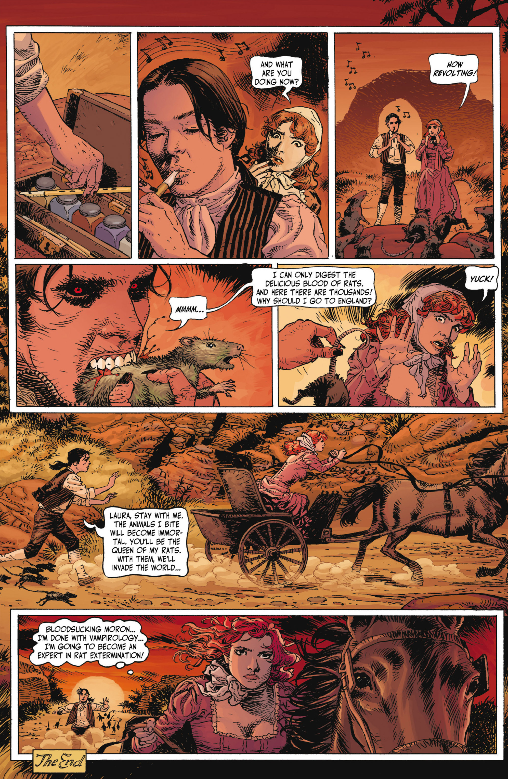 Read online Alejandro Jodorowsky's Screaming Planet comic -  Issue #1 - 44