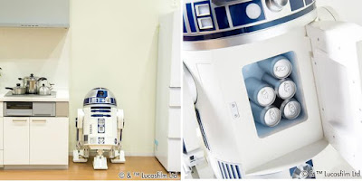 R2-D2 Moving Refrigerator