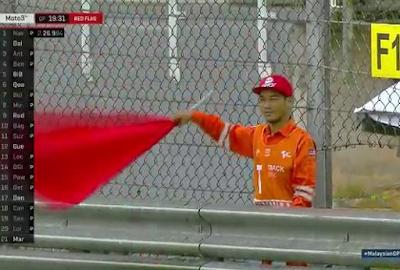Red Flag! Kualifikasi Kacau, Hujan Desar Guyur Sirkuit Sepang