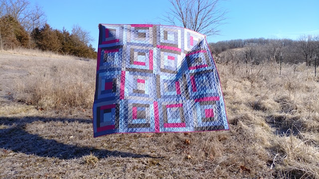 Chambray quilt in Beyond the Block book