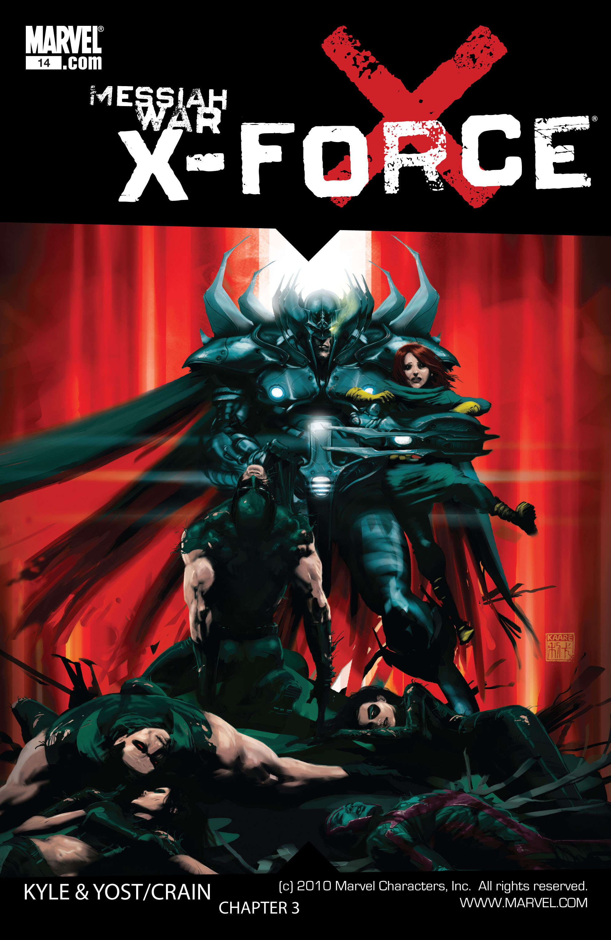 Read online X-Force (2008) comic -  Issue #14 - 1