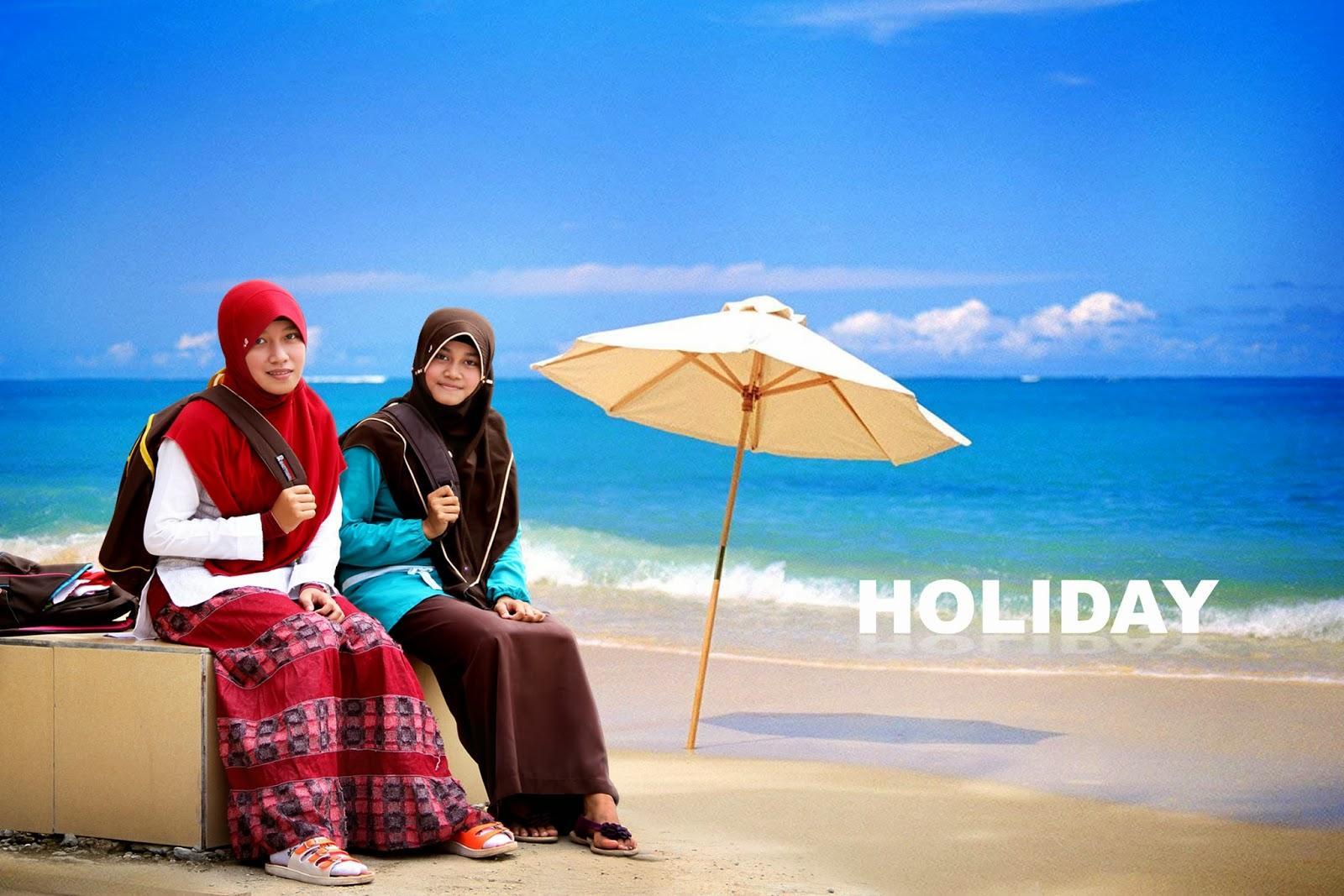 Mengganti Gambar Background Photo Photoshop Santri Aktif Yg Cantik