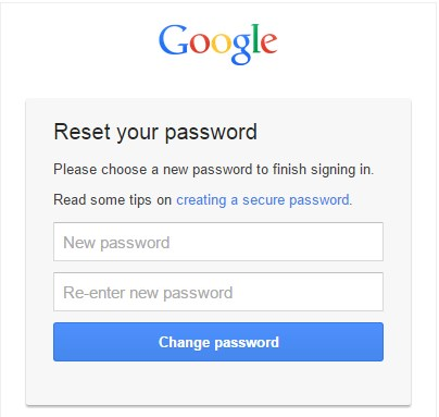 how to reset gmail password without recovery email