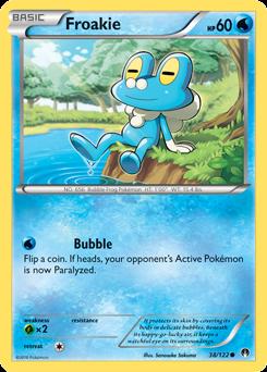 Froakie -- BREAKpoint Pokemon Card Review | Primetime ...