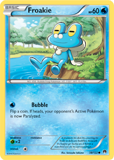 Froakie BREAKpoint Pokemon Card
