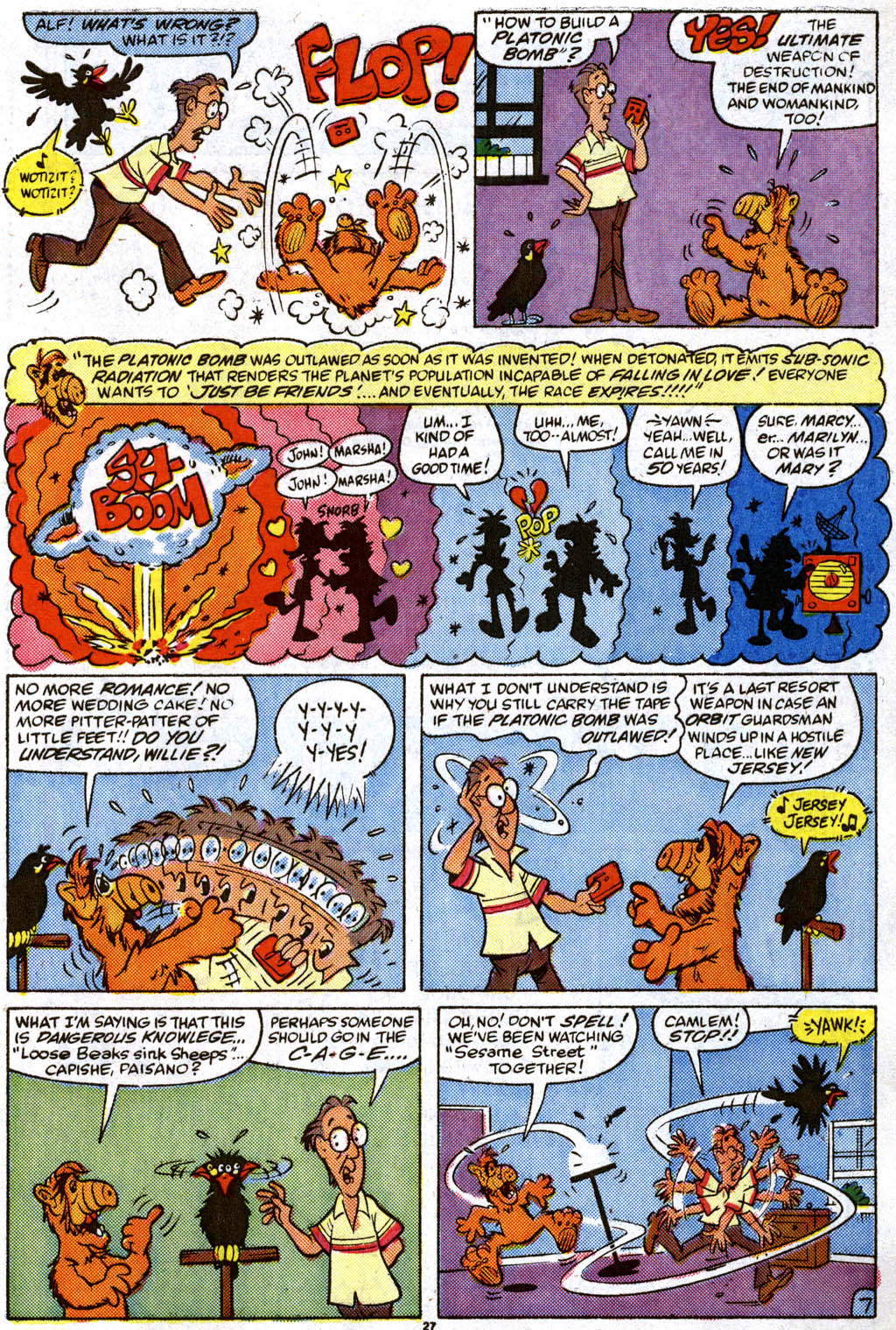 Read online ALF comic -  Issue #11 - 20