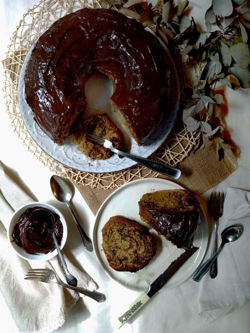 Torta marmolada de Bubbie Smigel. Receta de la abuela de Karen Leibowitz para Cherry Bombe