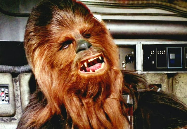 Raarrwwrararrrrrrrrr!  chewbacca
